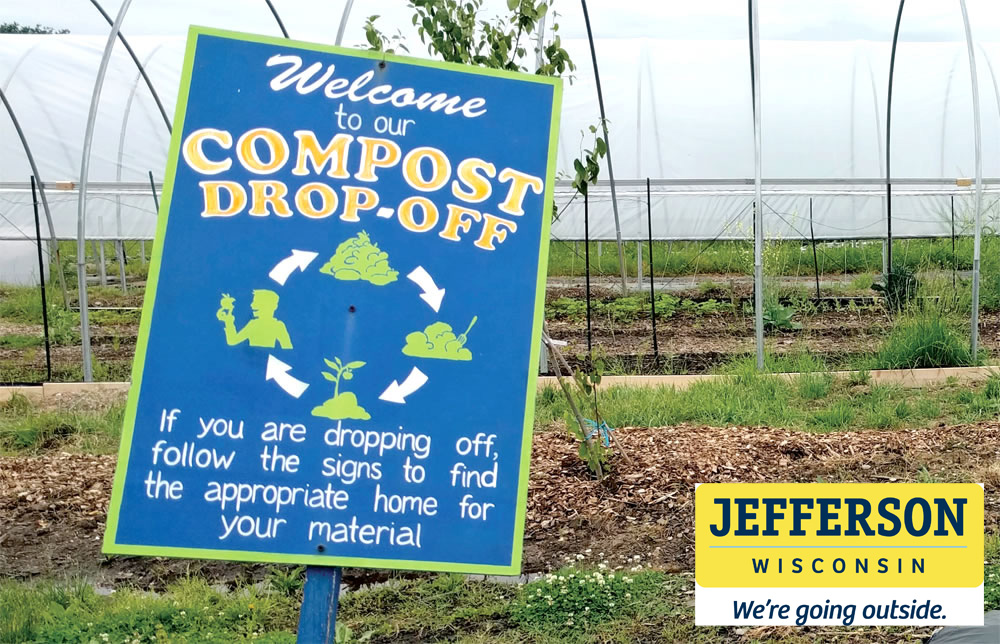 The compost site is open to City of Jefferson residents and is located at the end of Maple Grove Drive.  The site is open April through November and secured by 24-7 video surveillance.  If you observe unlawful dumping, please report it immediately to the Jefferson Police Department.  We appreciate all residents adhering to signage to properly place yard waste in designated areas.  Mulch and wood chips are free to City residents.  Thank you for cooperation.  Monday:         Closed Tuesday:         Closed Wednesday:   Open after 8am Thursday:       Closed Friday:            Open after 2pm Saturday:       Open all day Sunday:          Open all day 11/12/19 - Please see additional information under Leaf Collection to the left.