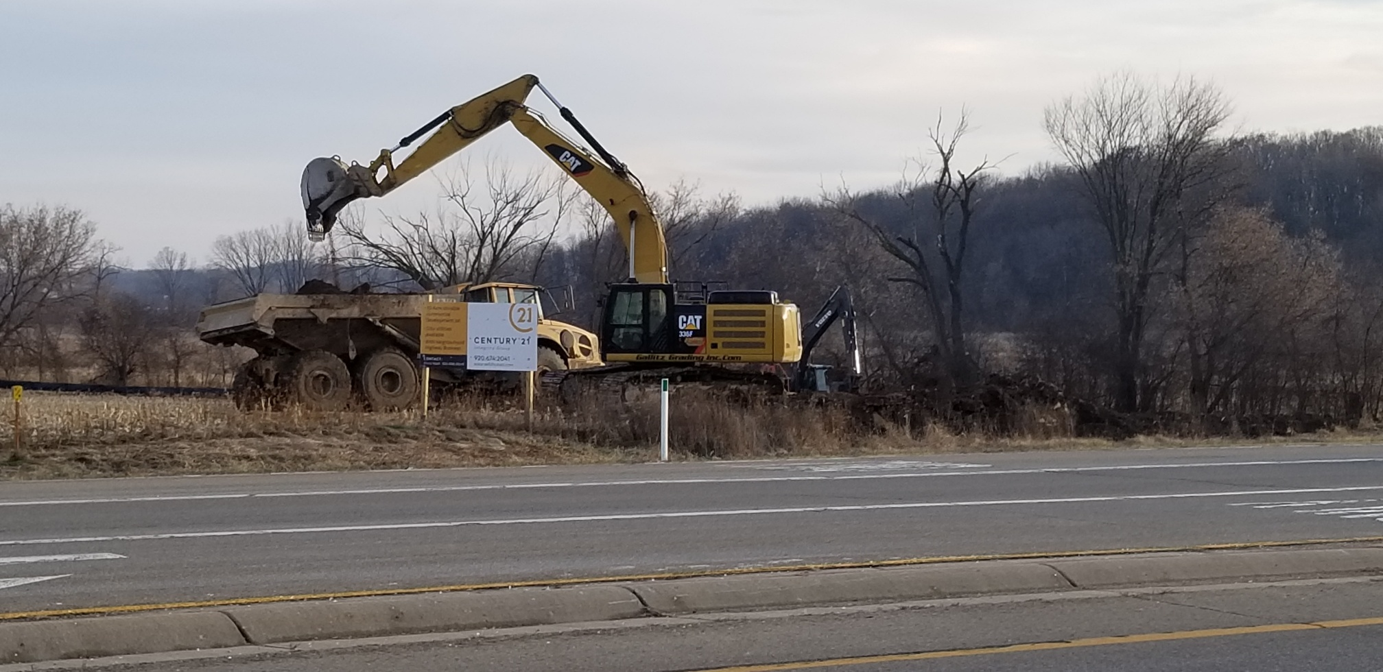 Construction of a hotel and retention basin have started on the northern border of the City of Jefferson!